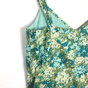 Ann Taylor Dresses - Ann Taylor floral sun dress midi length summer